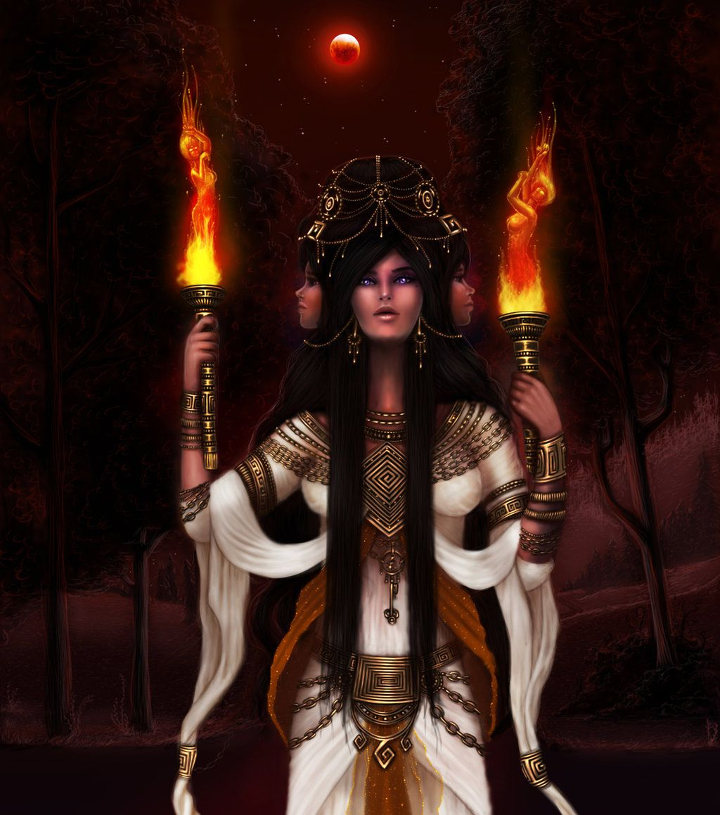 HEKATE DIVINE POWER TO THE UNIVERSE
